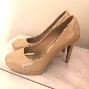 Shoes - Simple, nude heels!